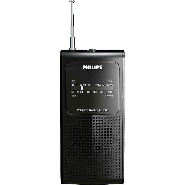 RADIO AE1500X PHILIPS 2 FAIXAS AM/FM 2W