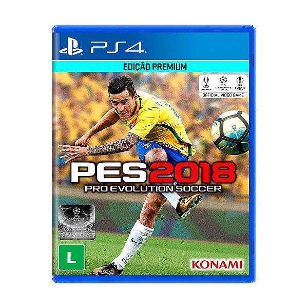 JOGO PS4 PES 2018