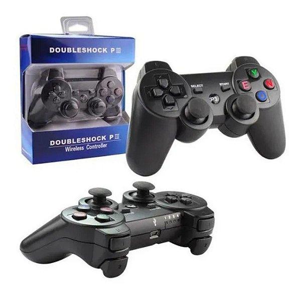 CONTROLE PS3 DOUBLE SHOCK XLS S/ FIO