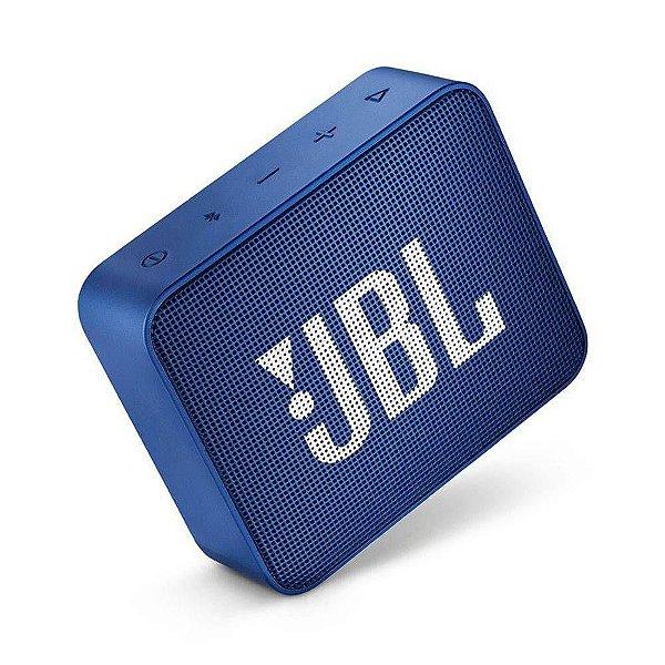 Caixa de Som Bluetooth JBL GO 2 Azul 3W