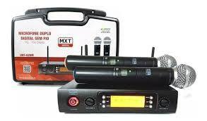 MICROFONE UHF-PLL 100 MXT CANAIS/UHF-526M