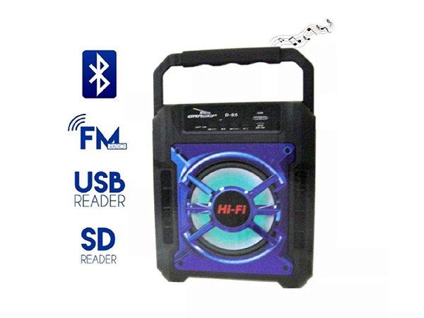 Caixa de Som Bluetooth Grasep D-S5 Azul 10W