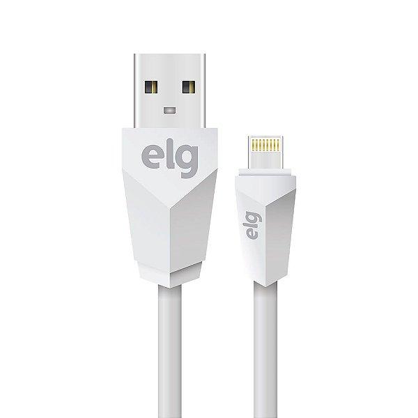 Cabo USB para Lightning L810 Branco 1Metro ELG
