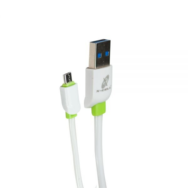 CABO MICRO USB V8 XC-CD-57 X-CELL BRANCO 2MT