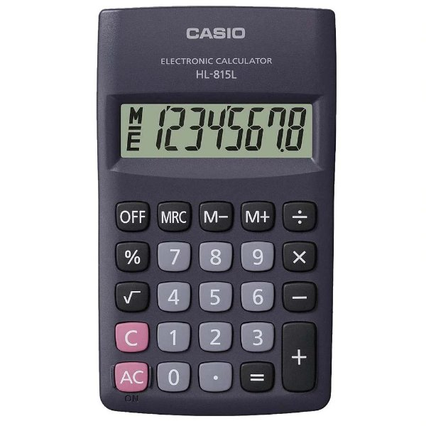 Calculadora Casio HL-815L Preta