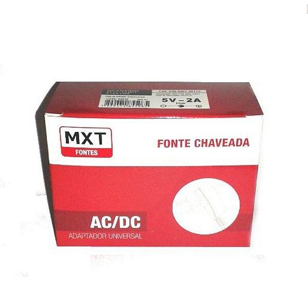 FONTE CHAVEADA MXT 5V 2A - P4 (+)- 39.1.170
