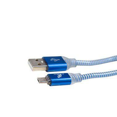 CABO MICRO USB V8 XC-CD-22 X-CELL AZUL 2MT