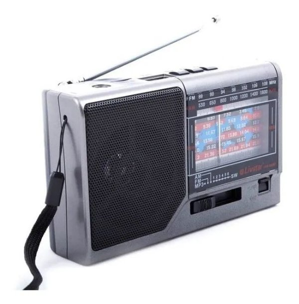 RADIO CNN-959BT LIVSTAR 8 FAIXAS AM/FM 3W