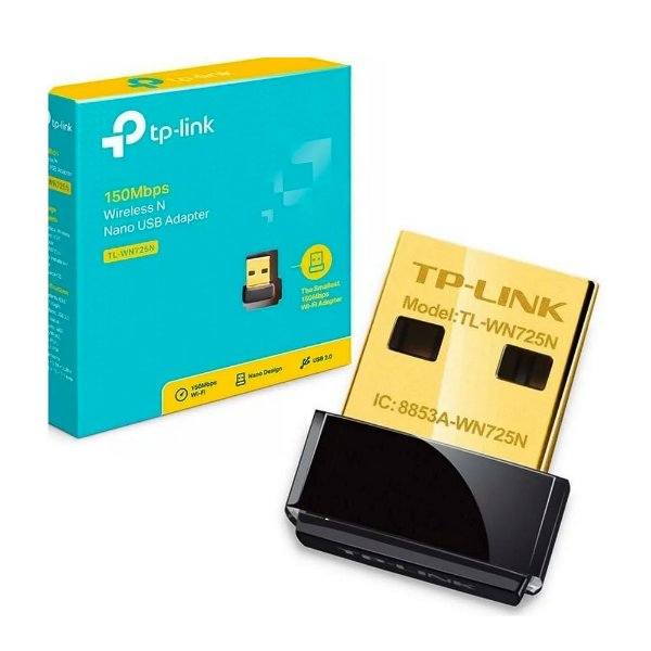 Adaptador Wireless TP-Link USB TL-WN725N Nano