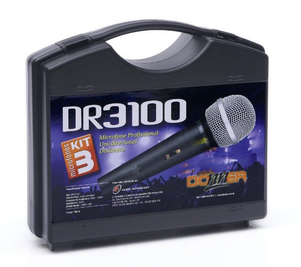 MICROFONE DR3100 DONNER 500 OHMS CARDIOID
