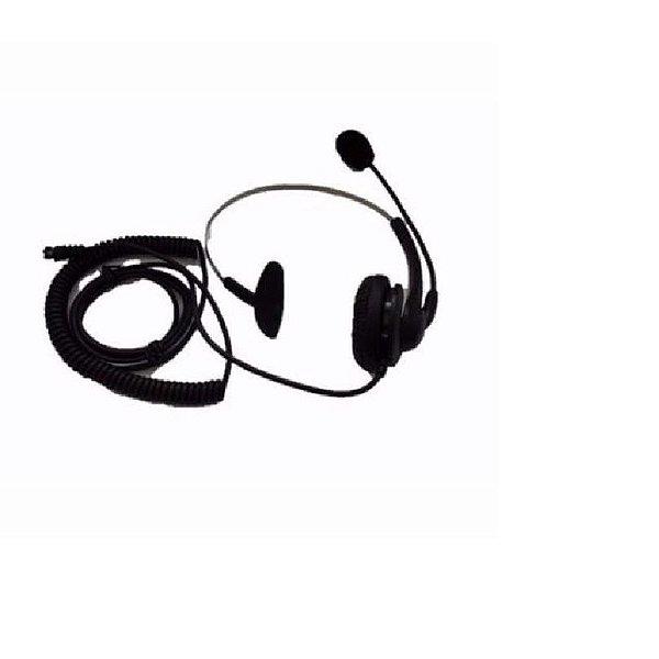 Telefone Headset com Fio Maxtel MT-108 Preto