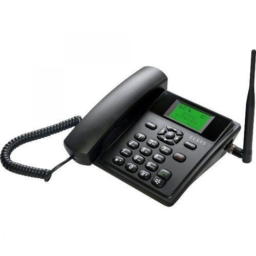 TELEFONE RURAL EPFS11 ELSYS DUAL CHIP PTO C/ FIO