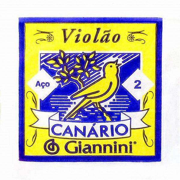 2ª Corda de Aço para Violão Giannini GESWB2