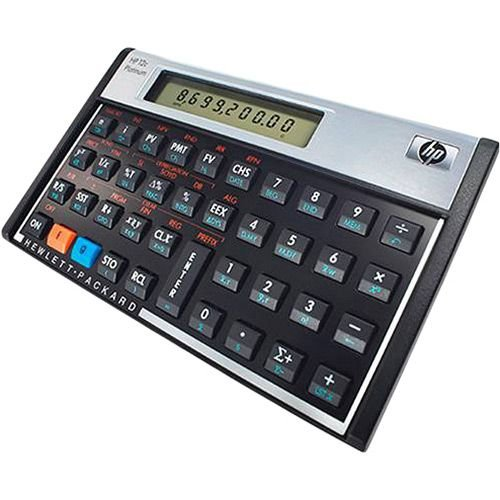 CALCULADORA HP-12C HP FINANCEIRA PLATINUN