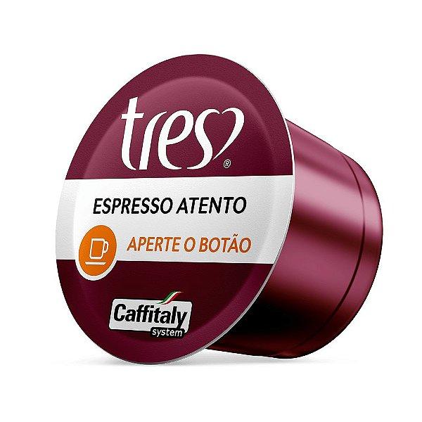 CÁPSULA DE CAFÉ EXPRESSO ATENTO TRÊS CORAÇÕES