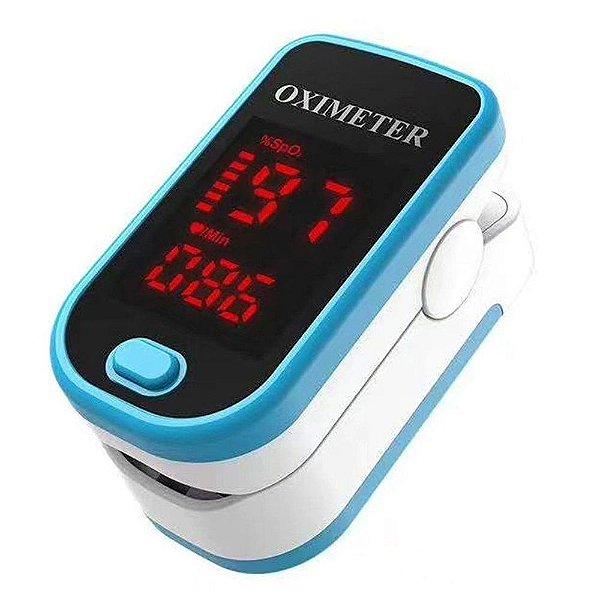 Oxímetro Digital Portátil Oximeter Mt-9008 Azul