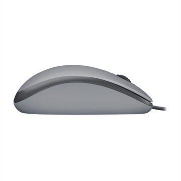 Mouse com Fio Logitech M110 Silent 1000DPI Cinza