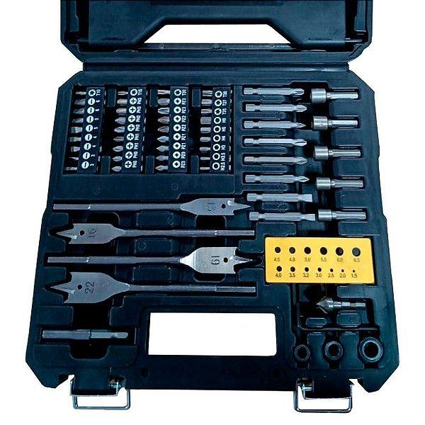 Kit Brocas e Bits Multilaser HO211 82 Peças