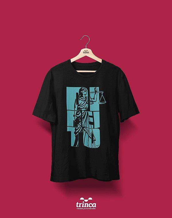 Camisa Direito - Temis - Preta - Premium
