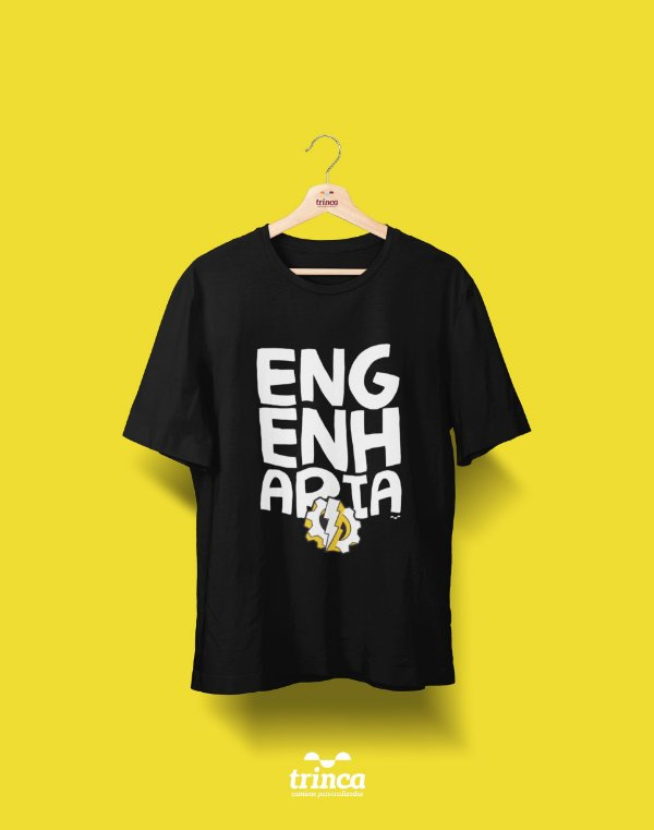 Camisa Engenharia Elétrica - Se Liga no Curto - Premium