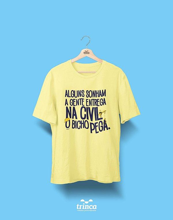Camisa Engenharia Civil - Um Sonho Concreto - Premium