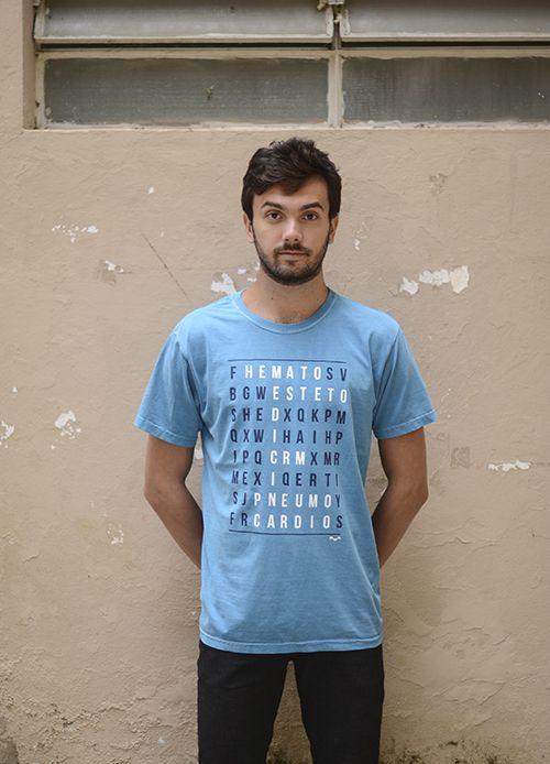 Camisa Medicina - Linha Stone - Petróleo