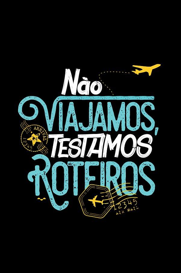 8c9d696de039 Camisa Turismo - Comer, rezar e amar - Preta - Basic - Estampamos a ...