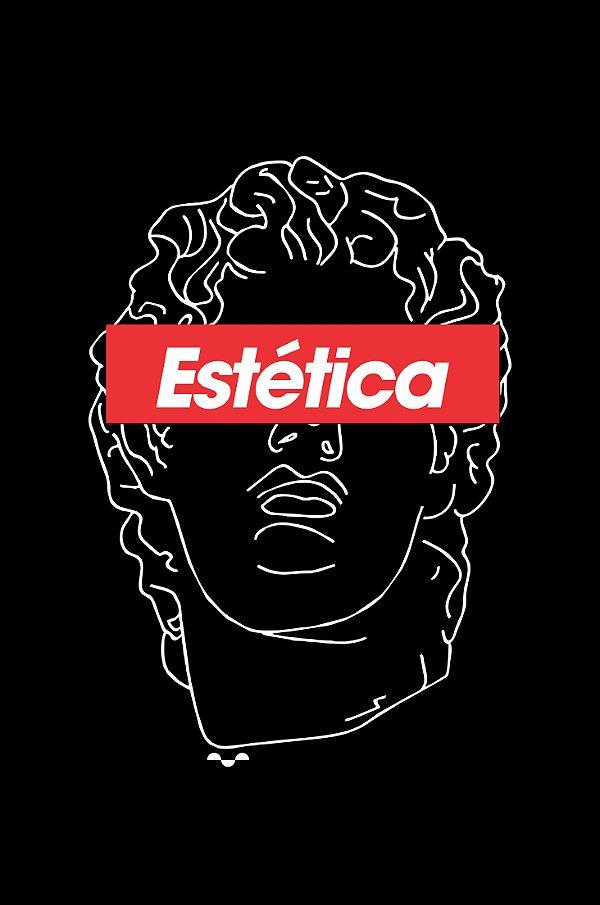 Camisa Estética - Aesthetic - Preta - Basic