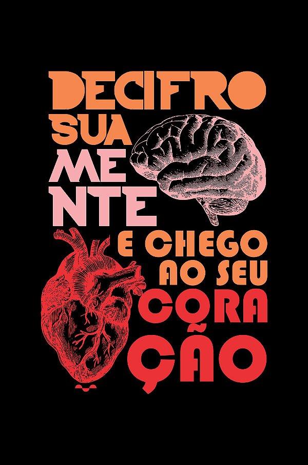 Camisa Psicologia - Por você - Preta - Basic