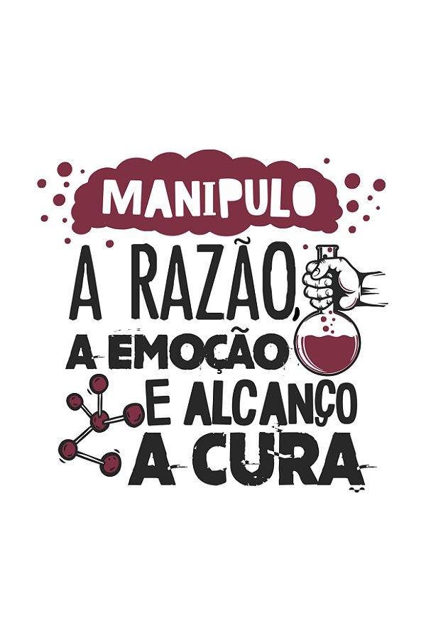 Camisa Universitária Farmácia - Vide Bula - Branca - Basic