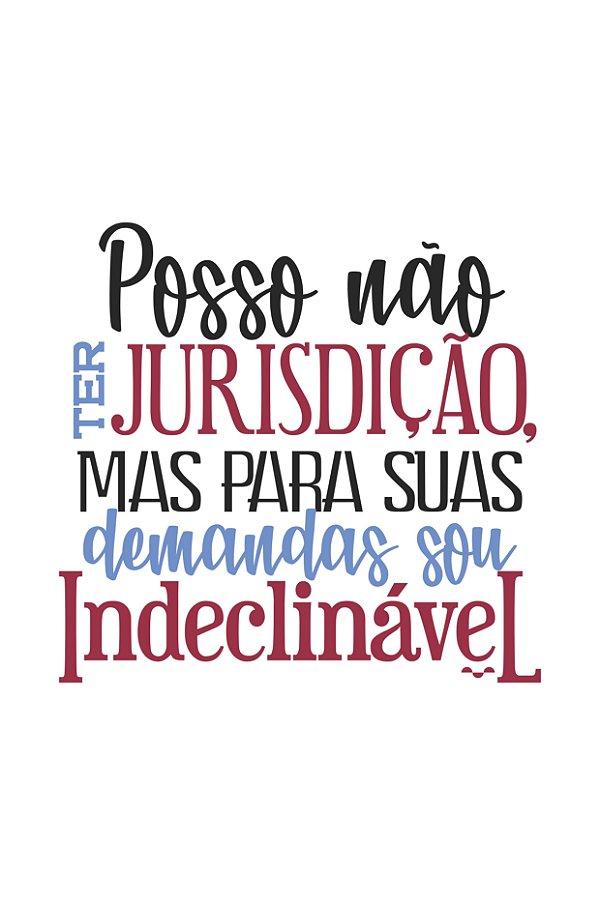 Camisa Universitária Direito - Às ordens - Branca - Basic