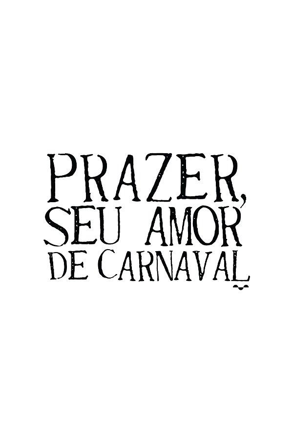 Camisa Especial Carnaval - Passageiro - Basic