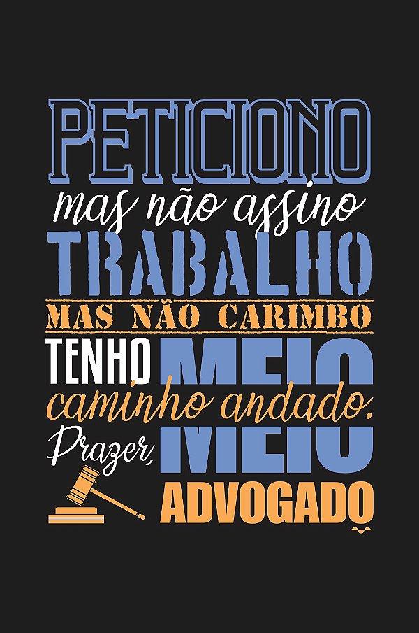 Camisa Universitária Direito - Meio Caminho Andado - Basic