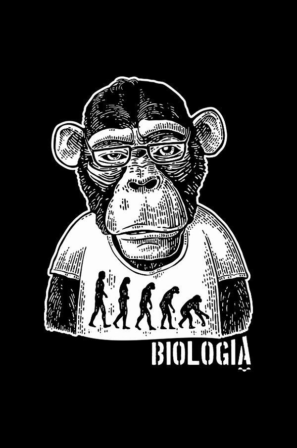 Camisa Universitária Biologia - Segundo o sol - Basic