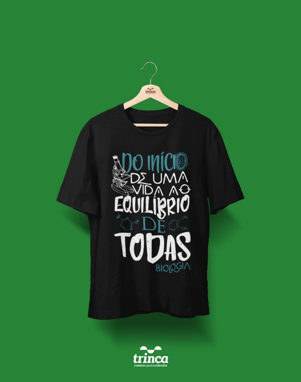 Camisa Universitária Biologia - Balance of Life - Basic