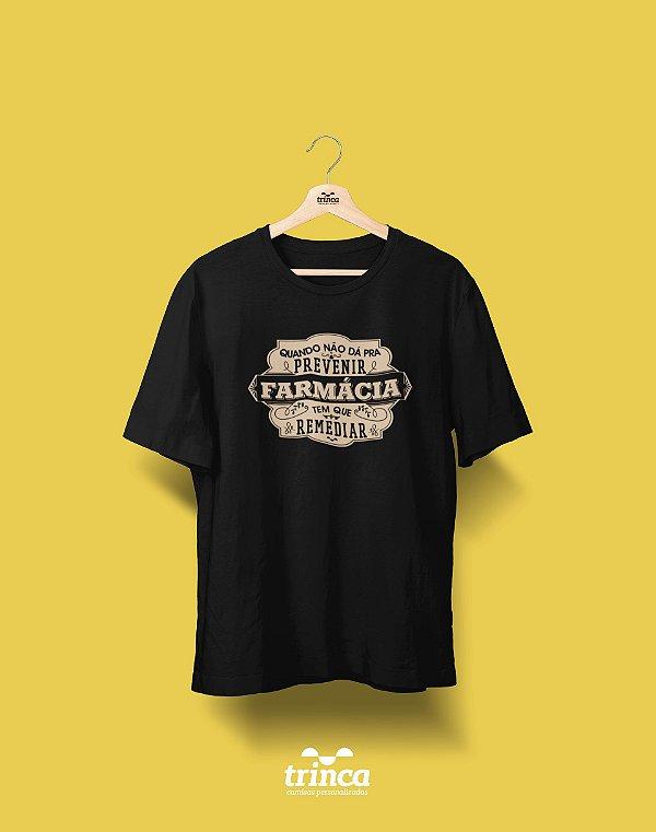 Camisa Universitária Farmácia - Botica  - Basic