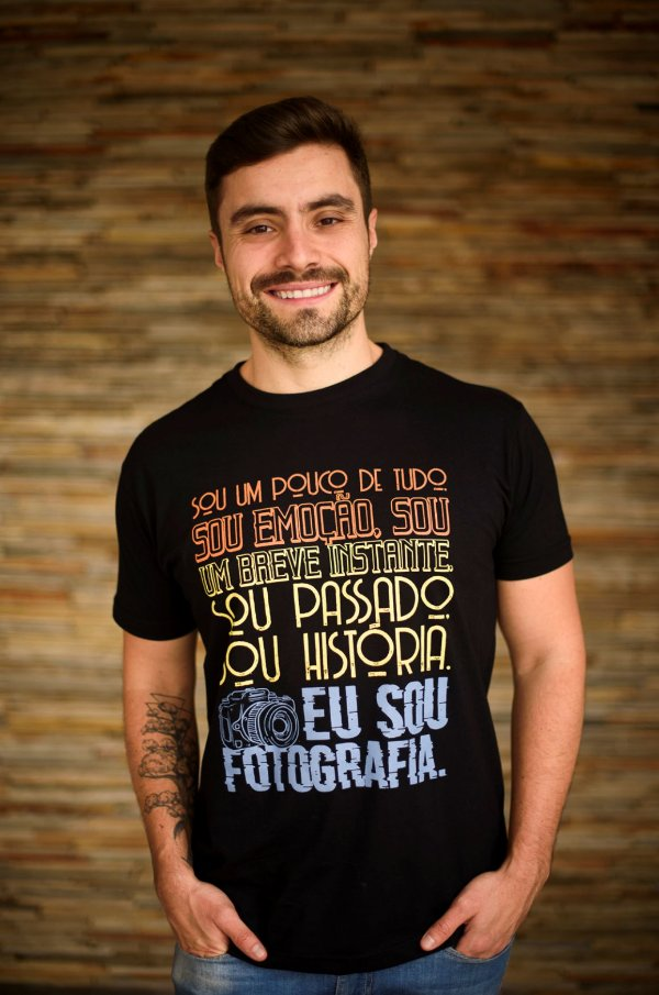 Camisa Coleção Megazap - Metamorfose Fotográfica