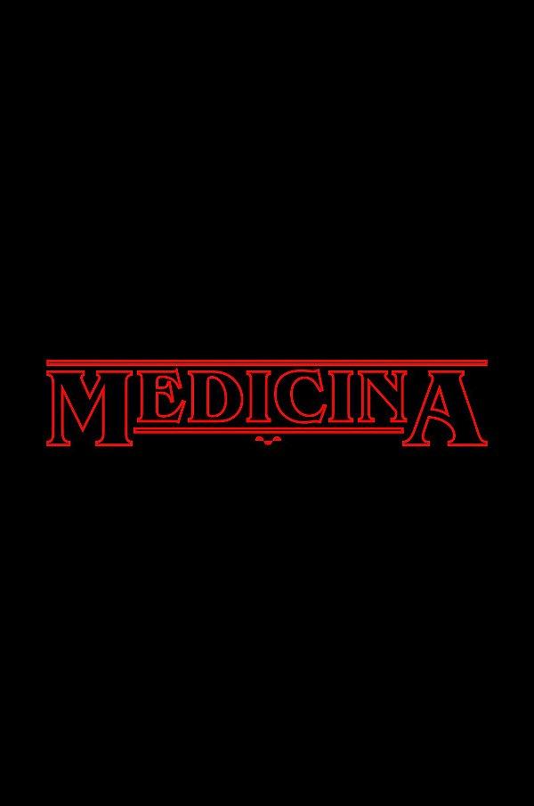 Camisa Universitária Medicina - Stranger Things  - Basic