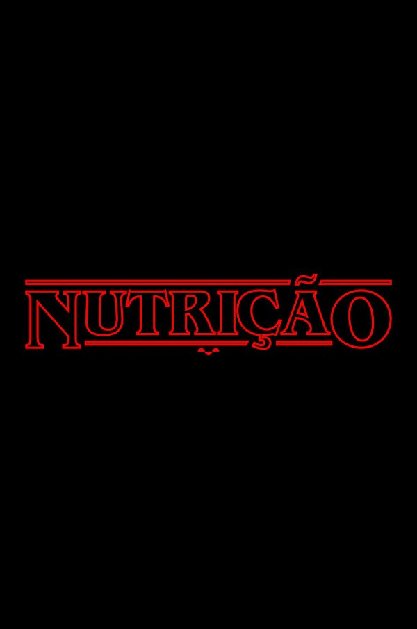 Camisa Universitária Nutrição - Stranger Things  - Basic