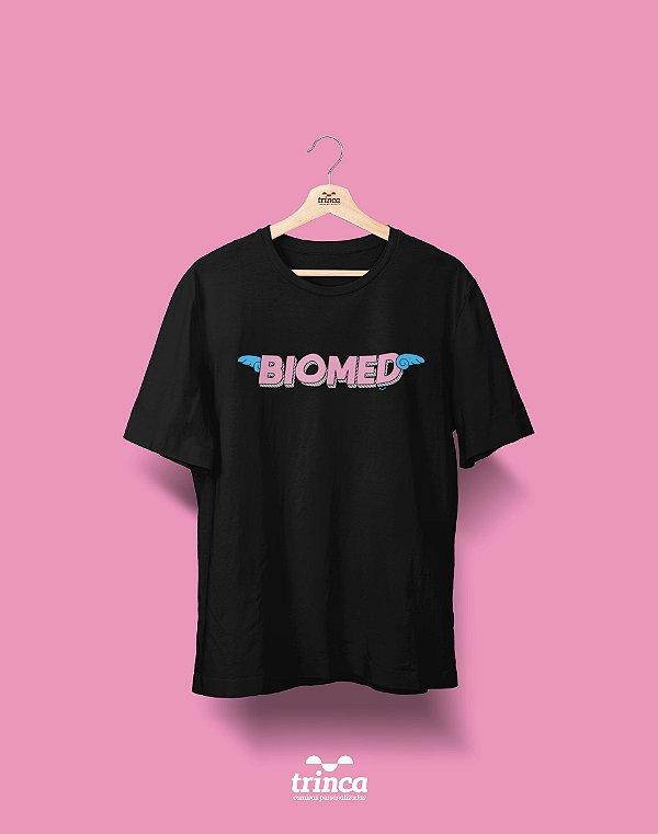 Camisa Universitária Biomedicina - Voe Alto - Basic