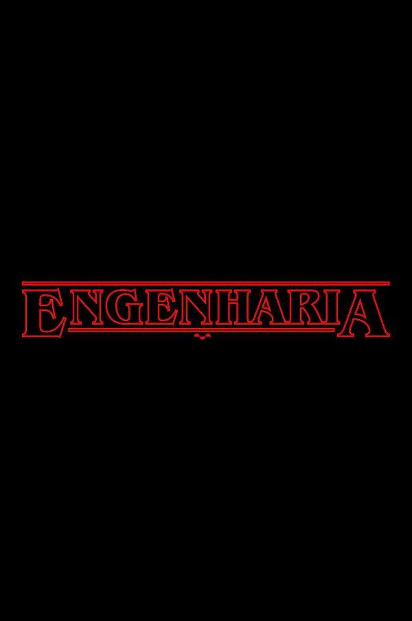 Camisa Universitária Engenharia - Stranger Things - Basic