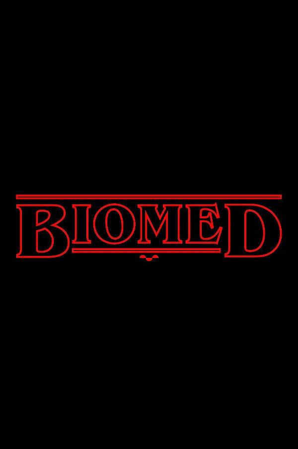 Camisa Universitária Biomedicina - Stranger Things - Basic