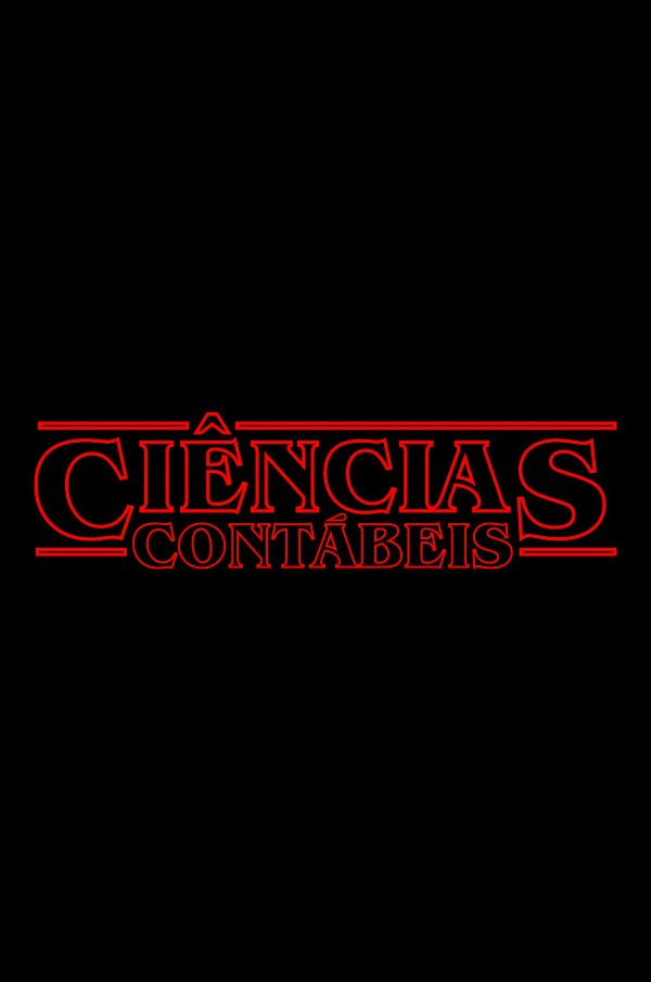 Camisa Universitária Contábeis - Stranger Things - Basic