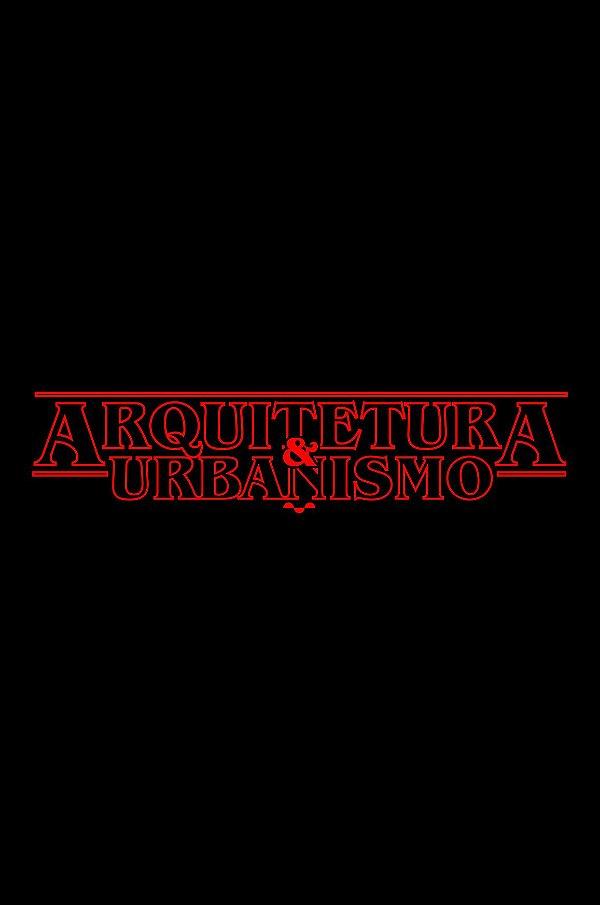 Camisa Universitária Arquitetura e Urbanismo - Stranger Things - Basic