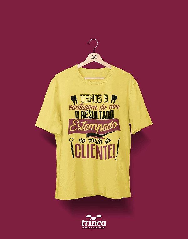 Camisa Universitária Odontologia - Comissão de Frente - Premium