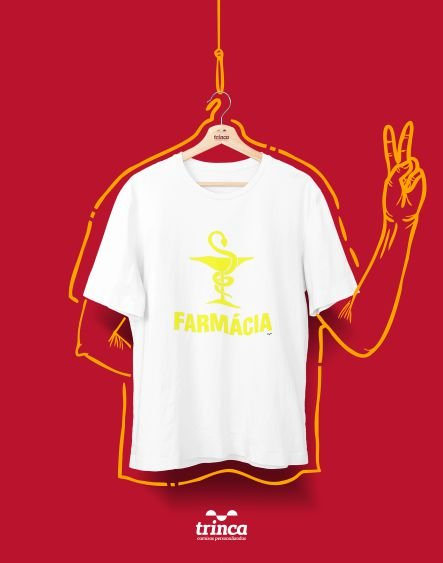 Camiseta Universitária - Farmácia - Farmasimbol - Basic