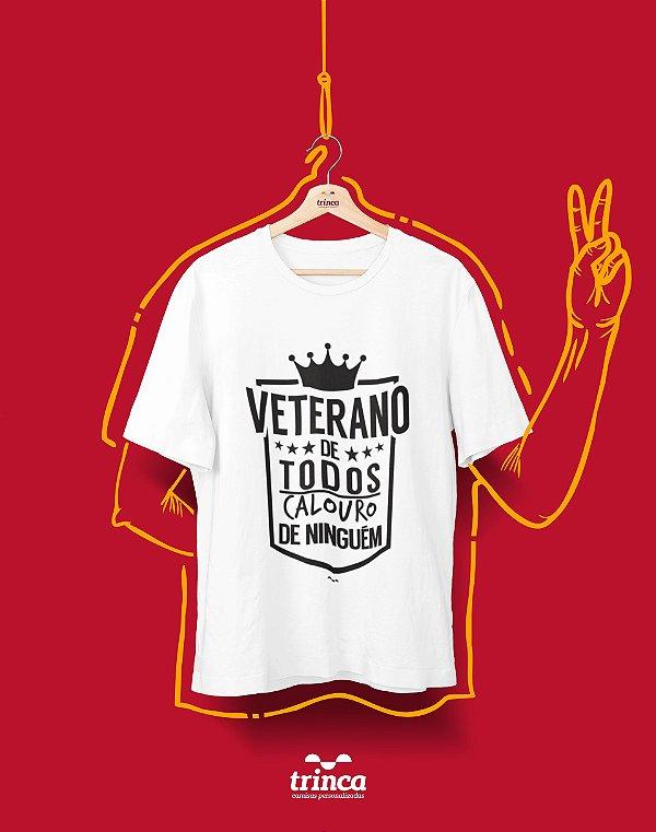 Camiseta Universitária - Veterano da P toda - Basic