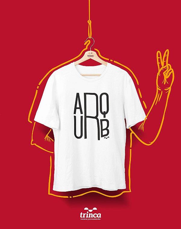 Camiseta Universitária - Arquitetura e Urbanismo - Minimal - Basic