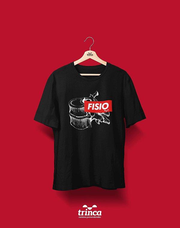 Camiseta Universitária - Fisioterapia - Supreme - Basic