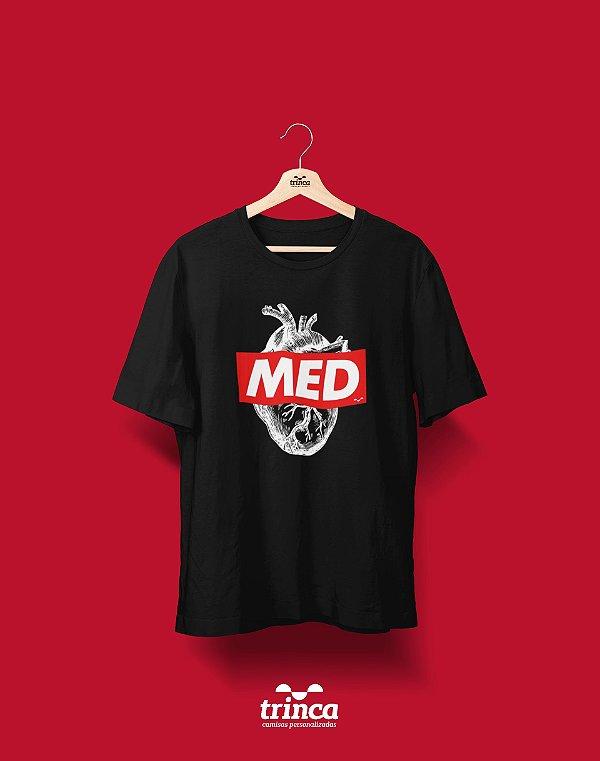 Camiseta Universitária - Medicina - Supreme - Basic